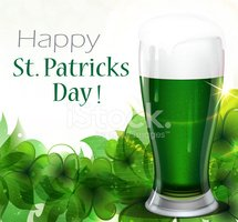 St. Patrick's Day,Frothy Dr...