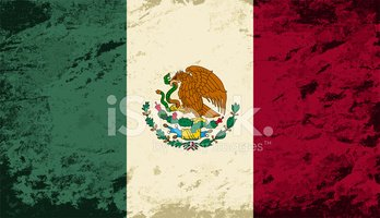Mexican Flag,Old-fashioned,...