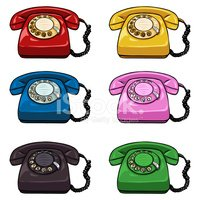 Telephone,Business,Color Im...