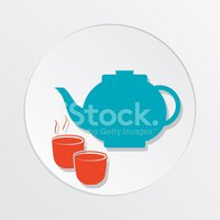 Tea Cup,Ilustration,Vector,...