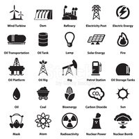 energy electricity power icons signs and symbols clipart images energy electricity power icons signs
