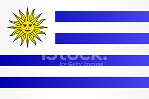 Vector,Uruguaian Flag,South...