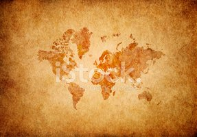 Map,World Map,Old,Cartograp...