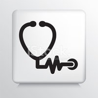 Stethoscope,Outline,Healthc...