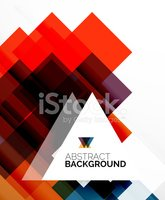 Square shape abstract layouts, business template