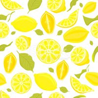Pattern,Lemon,Citrus Fruit,...