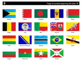 Bahrain,Bangladesh,Flag Of...