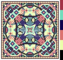 Cross-Stitch,Pattern,Cultur...