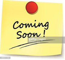 Coming Soon Yellow Note stock vectors - Clipart.me
