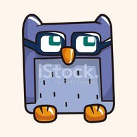 Owl,Pattern,Bird,Cartoon,Il...
