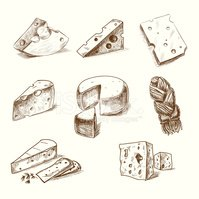 Ilustration,Cheese,Delicate...