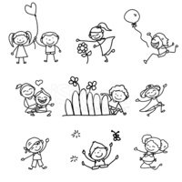 Drawing - Activity,People,P...
