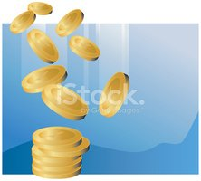 Coin,Currency,Gold Colored,...