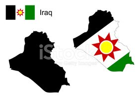 Iraq Map and Flag Vector Iraq Map Iraq Flag stock vectors Clipartme