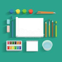 Pencil,Paper,Work Tool,Vect...