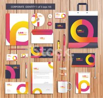 Abstract,Paper,Set,Placard,...