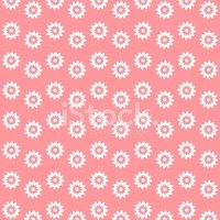 Daisy,Pattern,Pink Color,Fl...