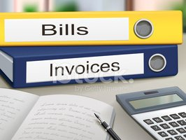 Bills And Invoices Binders Stock Vectors Clipart Me