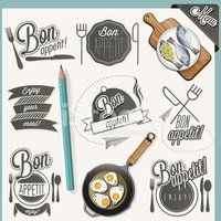 Fork,Plate,Spoon,Text,Banne...