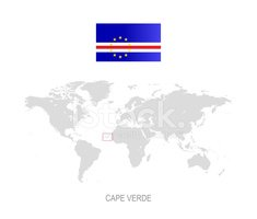 Flag Of Cape Verde,Vector,W...