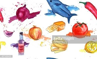 Watercolor Painting,Cheese,...