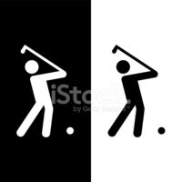 golf club icons set great for any use. Vector EPS10.