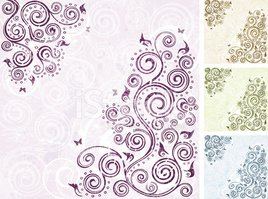 Backgrounds,Ornate,Brown,Pu...