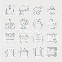 Icon Set,Vector,Cooking,Set...
