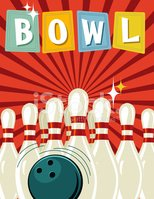 Bowling Alley,1940-1980 Ret...