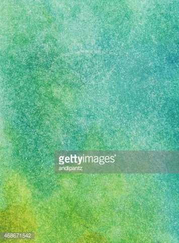 Pastel Colored Blue And Green Watercolor Background Clipart Images