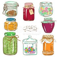 Jar,Food,Rural Scene,Retro ...
