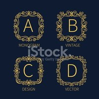 Insignia,Abstract,Label,Ele...