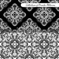 Ornate,Abstract,Aztec,Patte...