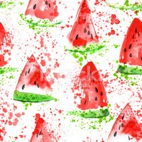 Summer,Melon,Illustration,S...