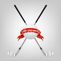 Golf,Old-fashioned,Vector,R...