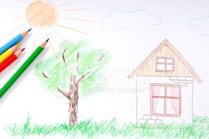 Drawing - Art Product,House...