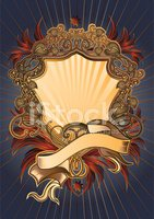 Shield,Rococo Style,Frame,...