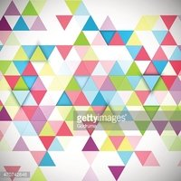 Abstract 3D triangles geometric background.