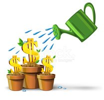Watering,Currency,Growth,Ca...