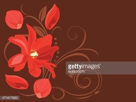 Decor,Old-fashioned,Flower,...