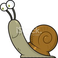 Snail,Cartoon,Insect,Smilin...