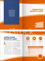 Corporate layout template
