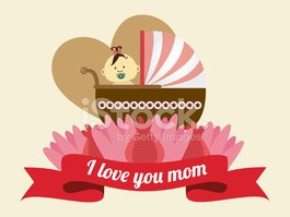 Mother day design, vector illustration.