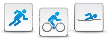 Triathlon,Symbol,Swimming,C...