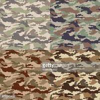 Camouflage fabric in different colors