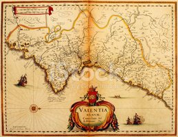 Map,Old,Spain,Antique,Carto...