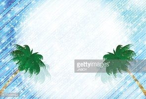 Sea palm background