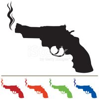 Smoking Gun,Gun,Handgun,Sil...