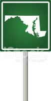 Maryland,Map,Sign,Tourism,R...