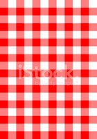 red checkered fabric vector pattern background